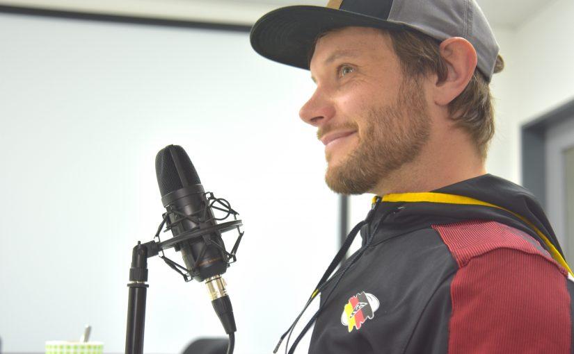 AI141 Gehörlose Skifahrer: Peter Haupt aus Isny trainiert sie