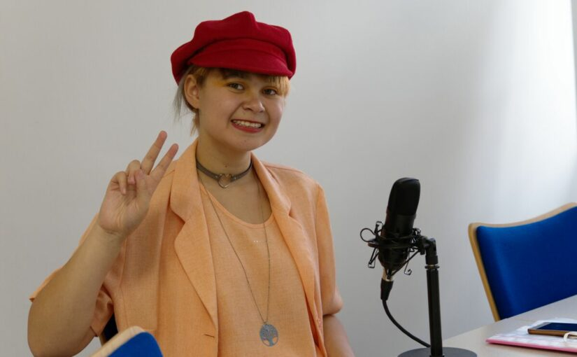 Podcast mit Fridays for Future Aktivistin Michelle Derbach