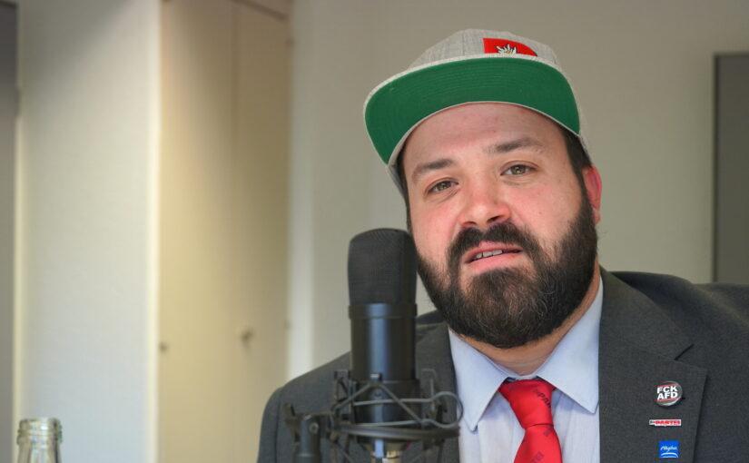 """Tommy Schwellinger (Oberallgäu): Darum bin ich bei der Bundestagswahl 2021 für """"Die Partei"""" angetreten."""